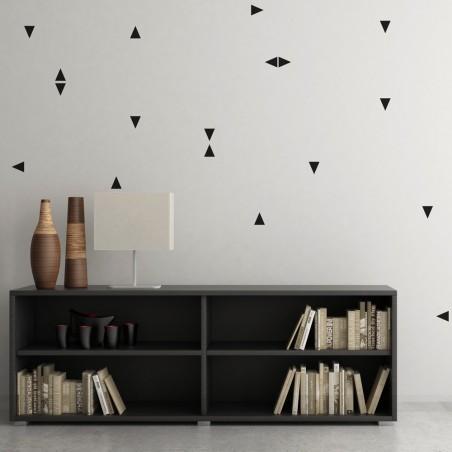 Kit de Stickers Muraux Triangles