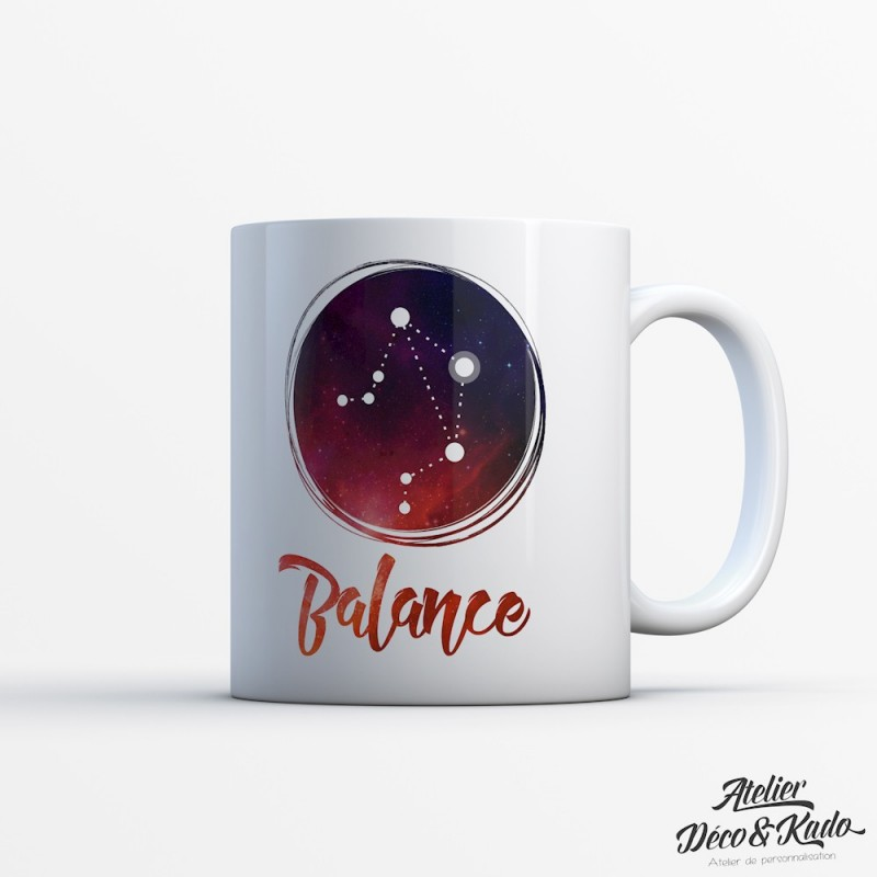 Mug signe du zodiaque Balance