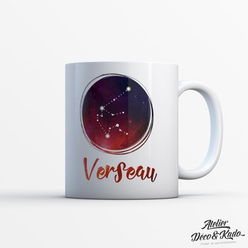 Mug signe du zodiaque Verseau
