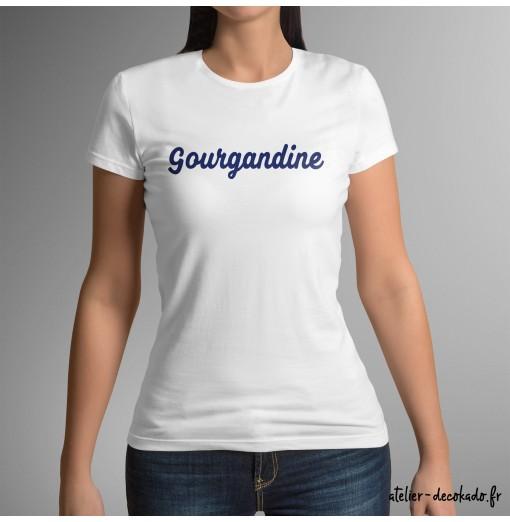 T-shirt femme Gourgandine